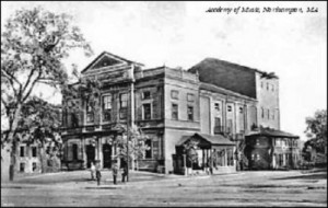 Academy of Music Historic Photograph